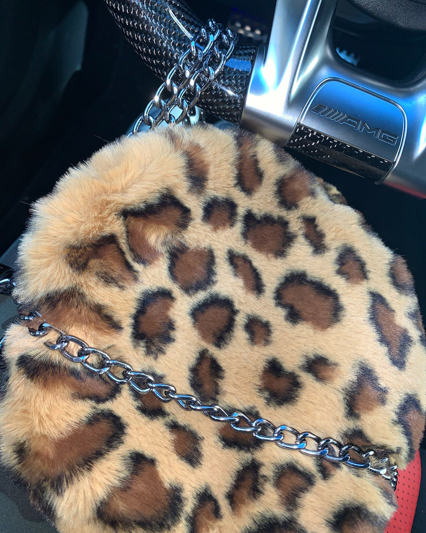 Leopard Mini Clutch