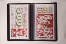 Load image into Gallery viewer, LARGE Banknote Album Currency Money Post Cards + 20 Deluxe Semi Rigid Toploaders