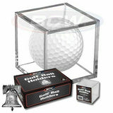 Golf Ball Holder Display Square Case BCW 2x2x2 Stackable Cube Stand Protector