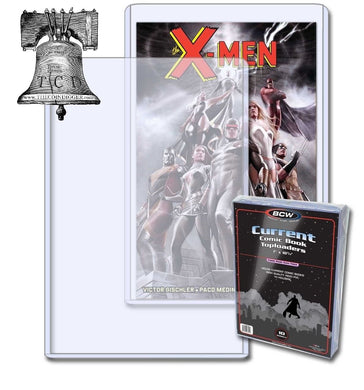1 BCW Modern Age Current Comic Book 38-55 Topload 7x10x5mm Plastic Rigid Case