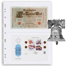 Load image into Gallery viewer, 10 Lighthouse Grande Page 2C Stamp Sheet Fits Graded Currency Slab PMG PCGS Case
