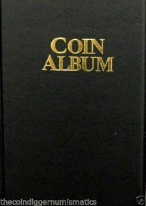Whitman Coin Holder 2x2 Album 12 24 60 80 Pocket Wallet Storage Book of CHOICE