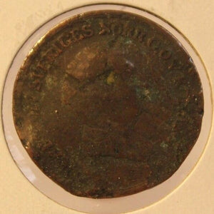 1839 Sweden 2/3 Skilling Coin with Holder thecoindigger World Coin Estates