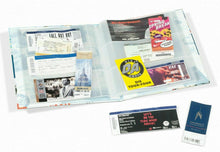 Load image into Gallery viewer, Ticket Album Holder Book Folder 11x13 Hard Cover 26 Page Sheet up to 156 Tickets