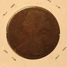 Load image into Gallery viewer, 1861 Great Britain Penny Coin with Holder  thecoindigger World Coin Estates