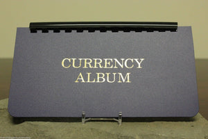 Whitman Large Currency Display Album w/ Removable 10 pages Banknote Storage