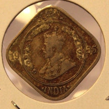 Load image into Gallery viewer, 1935 British India 2 Annas Coin with Display Holder thecoindigger World Estate