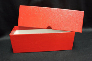 Poker Chip Coin Storage Box RED + 100 2½ x 2½ Coin Holder Display Flips 39mm