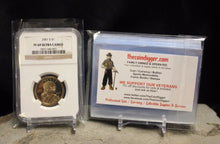 Load image into Gallery viewer, 500 TCD Coin Slab Resealable Sleeves NGC PCGS Everslab Quickslab Sleeve Slabs