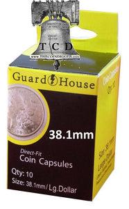 Direct Fit GUARDHOUSE Coin Capsule Holders (Choice)