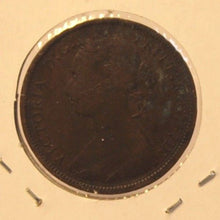 Load image into Gallery viewer, 1885 Great Britain 1/2 Penny Coin with Holder  thecoindigger World Coin Estates