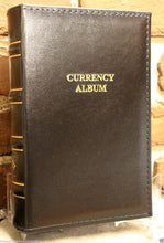 Load image into Gallery viewer, Lighthouse Currency HolderAlbum Leather Regular Banknote 30 Binder Page Book