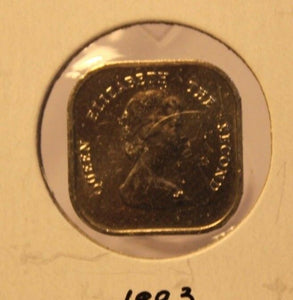 1993 Eastern Caribbean 2 Cent Proof Coin and Holder Thecoindigger World Estates