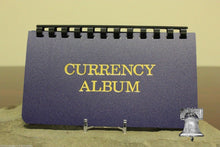 Load image into Gallery viewer, Small Currency Album Banknote Holder Modern Regular Size 10 Page Whitman Case