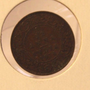 1914 British India 1/12 Anna Coin with Holder thecoindigger World Estates