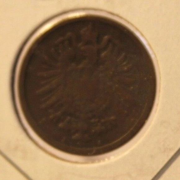 1875 A German States 2 pfennig Coin and Holder Thecoindigger World Coins Estates