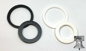 10 Air-tite Coin Holder Black or White Ring ONLY for Model A H and I Capsule