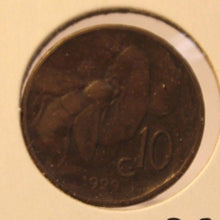 Load image into Gallery viewer, 1929 R Italy  Key Date 10 Centesimi Coin with Holder thecoindigger World Estates