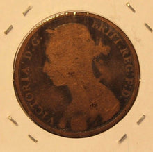 Load image into Gallery viewer, 1889 Great Britain Penny Coin with Holder  thecoindigger World Coin Estates