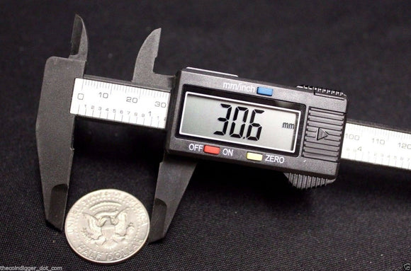 Digital Caliper Coin Stamp Jewlery Electronic ✯ CARBON COMPOSITE 6