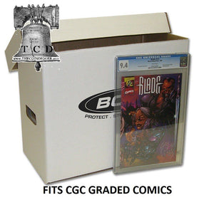 3 CGC Graded Comic Book Custom Storage Box Holds 35-40 BCW Comics Holder Case