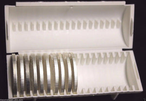 2 Sure Safe Bullion Bar Tube Storage for Silver Copper Dollar Round Eagle Case