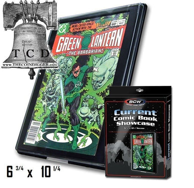 BCW Comic Book Holder Showcase Display CURRENT Size Wall Mount Case Frame Modern