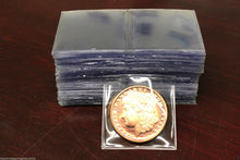 Load image into Gallery viewer, 50 Coin Holder Submission Safe T Flip 2X2 No PVC Plastic Case Archival Safe