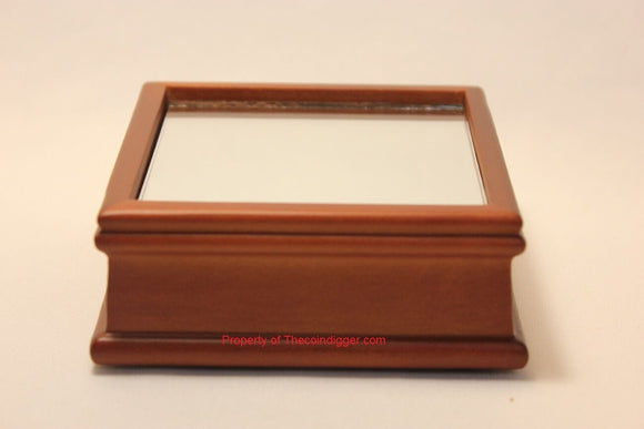 BCW Wood Base Display Stand Mirror Bottom Holder