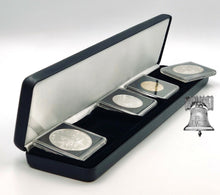 Load image into Gallery viewer, NOBILE Black Leatherette Coin Holder Snap Slab Magnicap Box Storage Case CHOICE