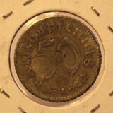 1940 A Germany SD Reichspfennig Coin with Holder thecoindigger World Coin Estate