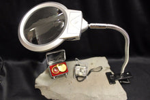 Load image into Gallery viewer, 3 Coin Collecting Magnifying Inspection Kit 60x Microscope LED Lamp Magnifier