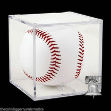 Load image into Gallery viewer, MLB Baseball Holder Ballqube GRANDSTAND Display Autograph UV Protection Box Case