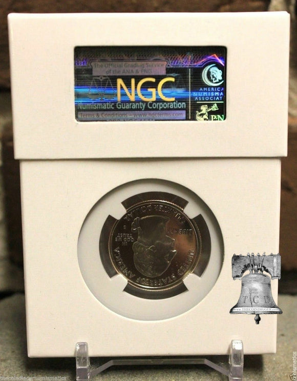Single Slab Coin Box for Graded PCGS NGC ANACS Lighthouse EVERSLAB QUICKSLAB