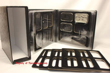 Load image into Gallery viewer, 1oz BAR Storage Album Folder Holder AIR-TITE Direct Fit & 36 Silver Capsule Case