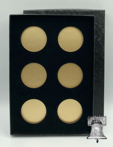 Air-tite Coin Storage Box Capsule Holder for 6 7 & 8 MODEL H Insert Silver or Gold Reflector