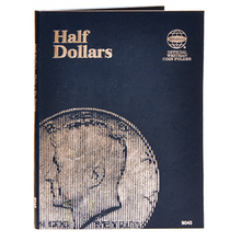 Load image into Gallery viewer, Whitman Album Cent Nickels Dimes Quarters Sacagawea Eisenhower Half Dollars Silver Large Dollars Liberty Walking SINGLE