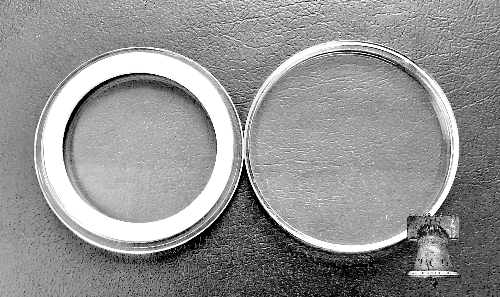 10 AIRTITE COIN HOLDER CAPSULE WHITE RING 42 MM
