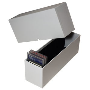 PSA Slotted Graded Card Storage Holder Container GH White Box Holds 25 Cards