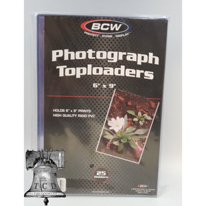Toploaders for Photos, Prints, and Documents