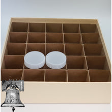 Load image into Gallery viewer, Large Dollar Coin Holder Tube Storage Box 25 Tubes Heavy Duty GUARDHOUSE