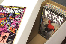 Load image into Gallery viewer, 1 BCW Long Cardboard Comic Book Custom Storage Box Holds 250-300 Comics Holder