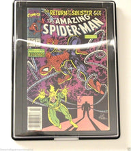 Load image into Gallery viewer, 5 SILVER AGE Comic Book Showcase Frame Holder BCW Wall Mount Display Case Plaque