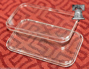 AIR-TITE Direct Fit Capsule Holder for 1oz Silver Bar Acrylic Case Airtite