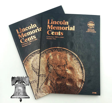 Whitman Album Cent Nickels Dimes Quarters Sacagawea Eisenhower Half Dollars Silver Large Dollars Liberty Walking COMBOS