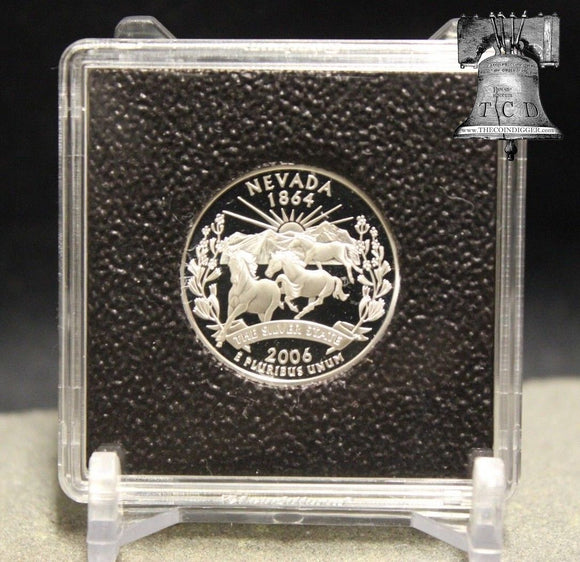 Coin Holder Snap Capsule Lighthouse Quadrum INTERCEPT 2x2 Storage 14-41mm Case