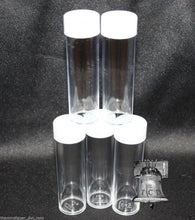 Load image into Gallery viewer, Assorted Coin Tube Round BCW Clear Plastic US Mint Variety 7 Size Tubes Case Penny to Large Dollar