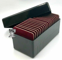 Load image into Gallery viewer, Air-tite Storage Box + 20 Coin Holder Red Velvet Display Card Case + Model A Capsule