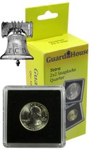Load image into Gallery viewer, Guardhouse Tetra 2x2 Coin Holder Snap Lock 9 US Mint Sizes Capsule Case