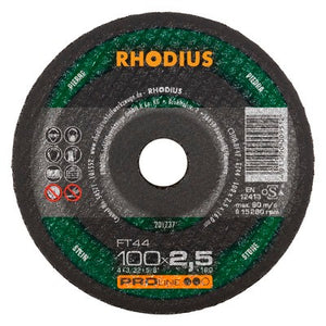 Rhodius FT44 Doorslijpschijf conventioneel